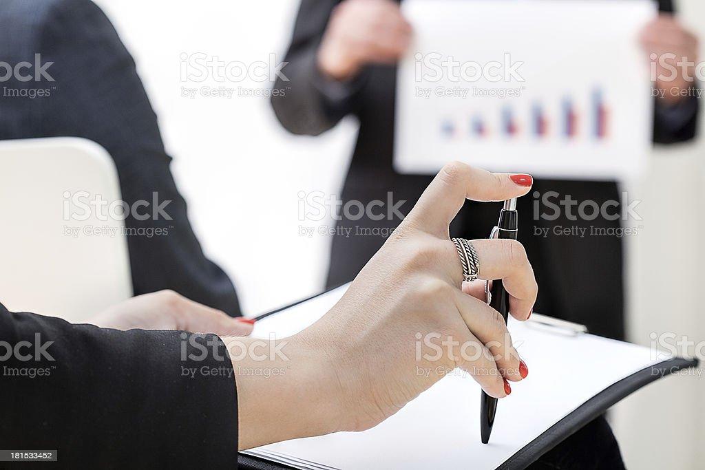 Office brainstorm royalty-free stock photo