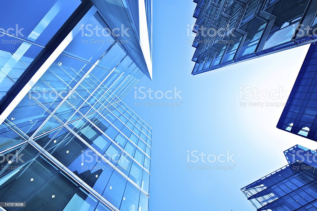 Office building architectural abstract royalty-free stock photo