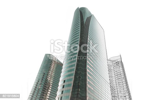 istock Office building architectural drawing sketch 821915804