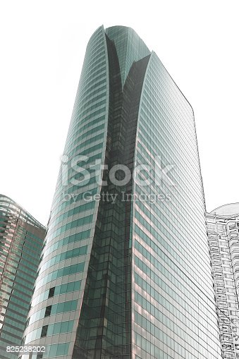 821915804 istock photo Office building architectural drawing sketch 825238202