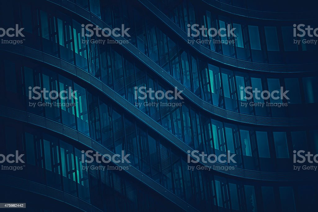 Office building architecture background stock photo