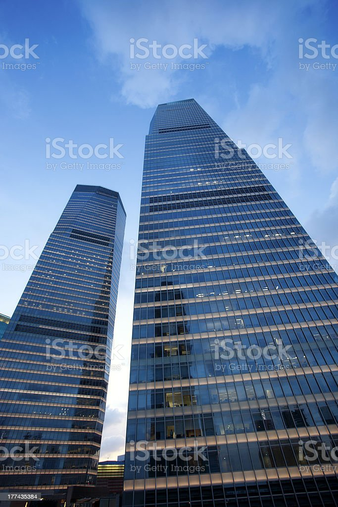 Office building at lujiazui CBD area,shanghai royalty-free stock photo