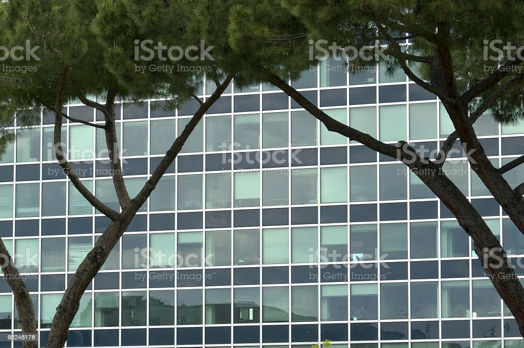 Office building background royalty-free stock photo