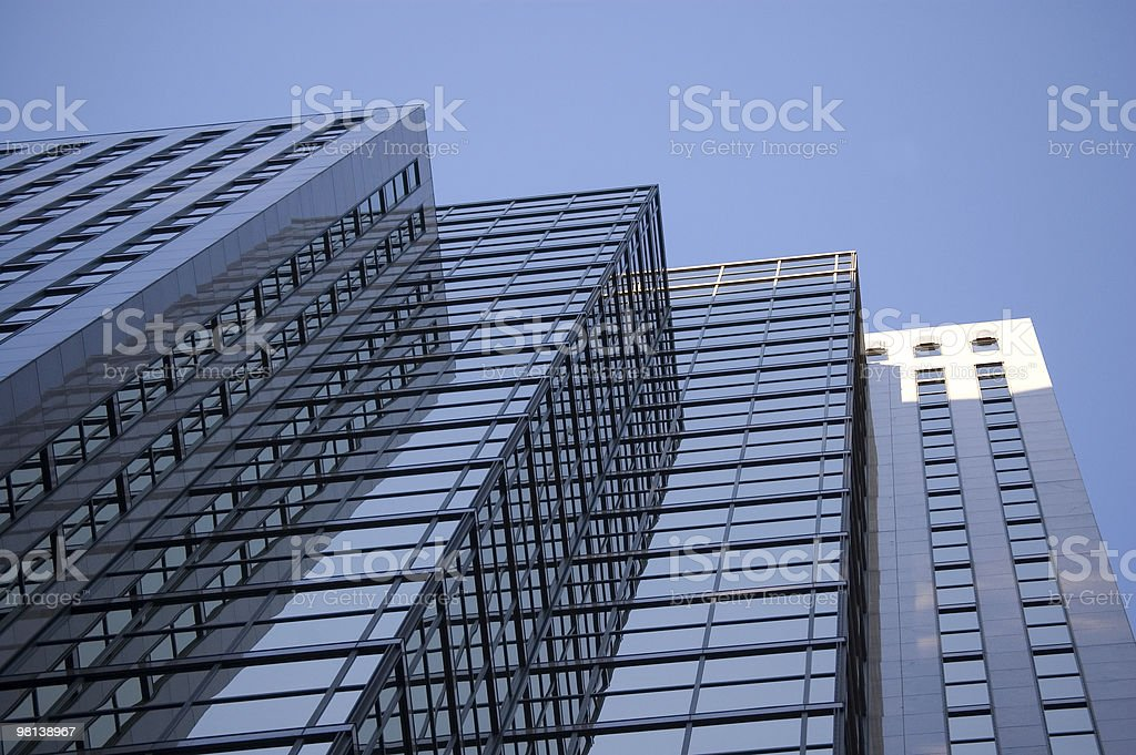 사무실 건물 배경 royalty-free 스톡 사진