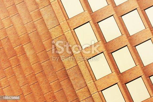 istock Office Building Brick Window Facade 155429865