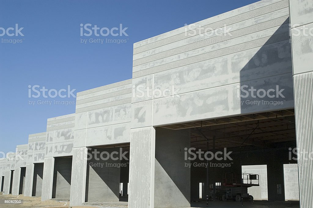 Office Building Construction stock photo