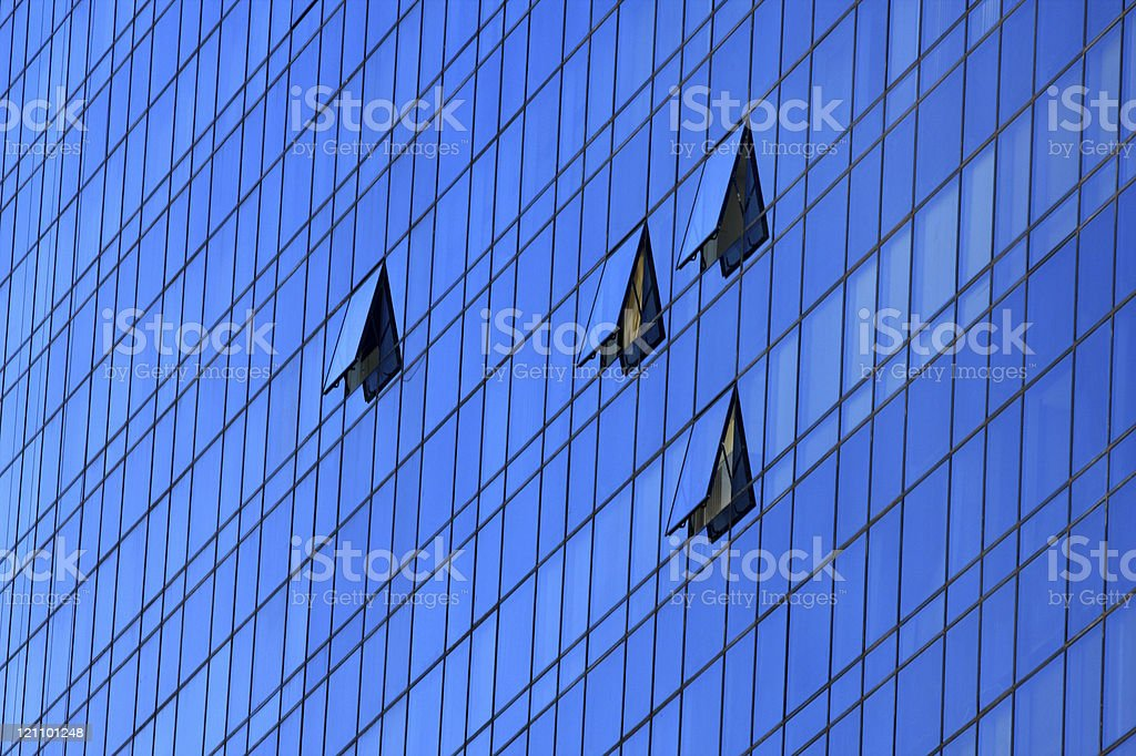 Office building detail royalty-free stock photo