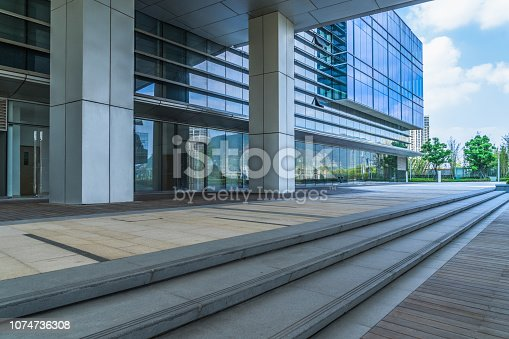 Building Exterior, Office Building Exterior, Staircase, Entrance, Steps