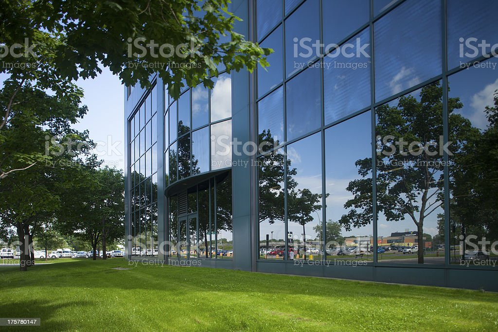 office building entrance royalty-free stock photo