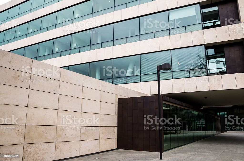 Office Building Entryway stock photo