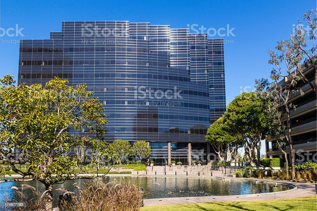 Office building exterior (P) royalty-free stock photo