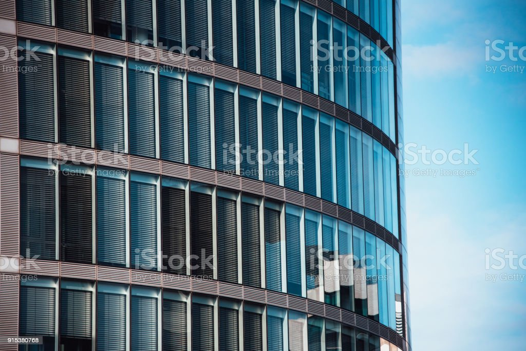 Office building exterior - foto stock