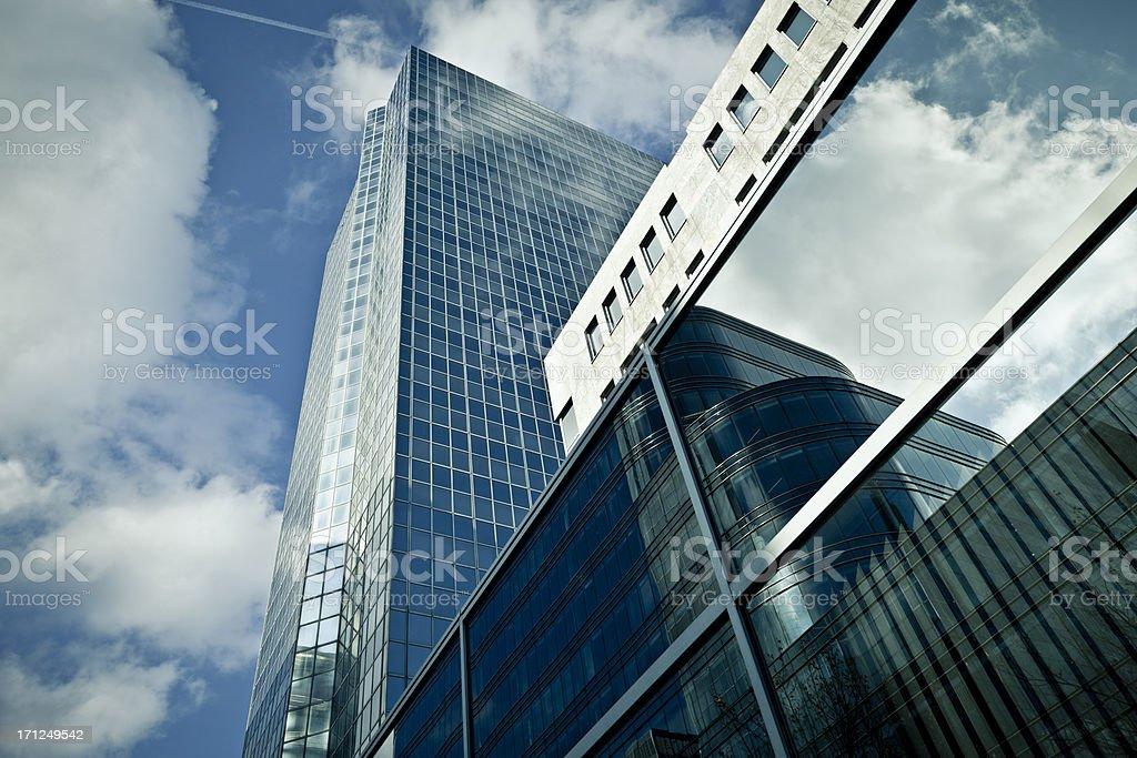 office building facade royalty-free stock photo