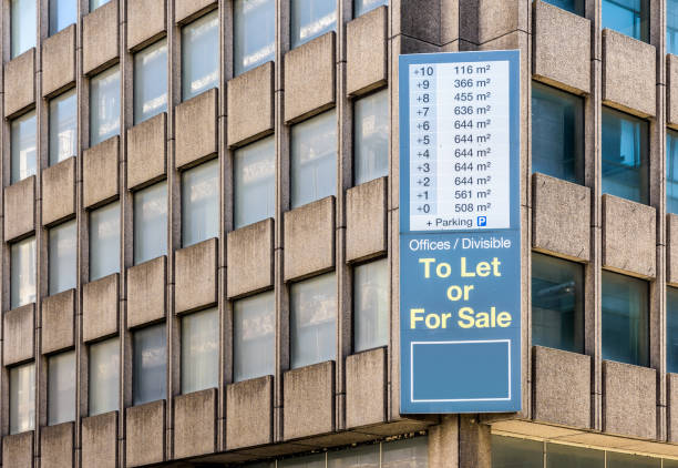 Immeuble de bureaux à vendre ou à laisser. - Photo