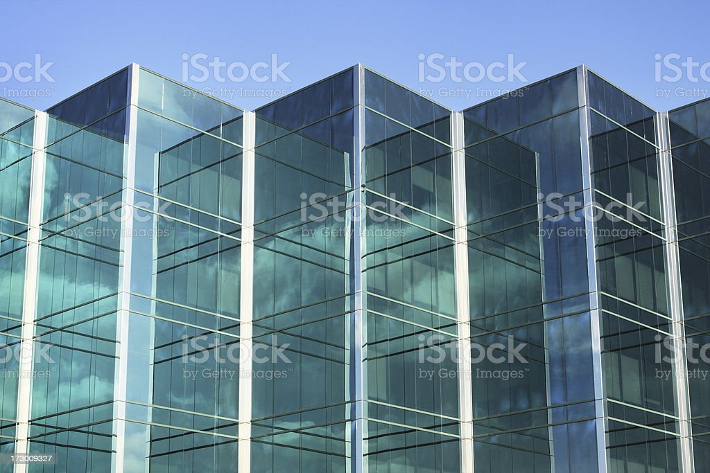 Glass Facade Of Office Building Royalty Free Stock Image: Office Building Glass Facade Stock Photo & More Pictures