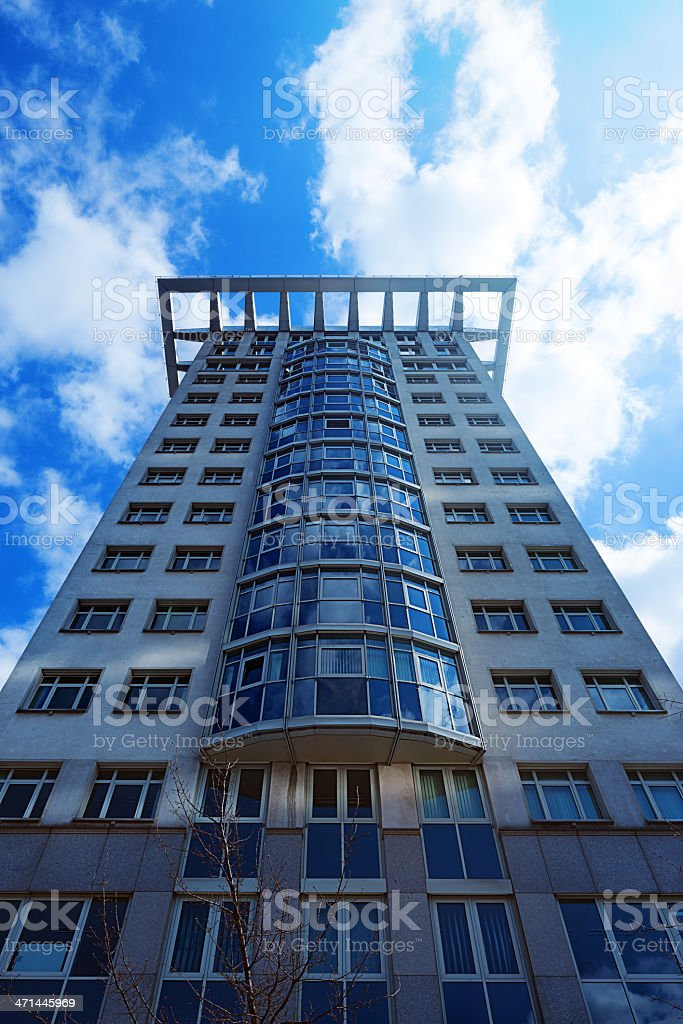 Office building in Berlin royalty-free stock photo