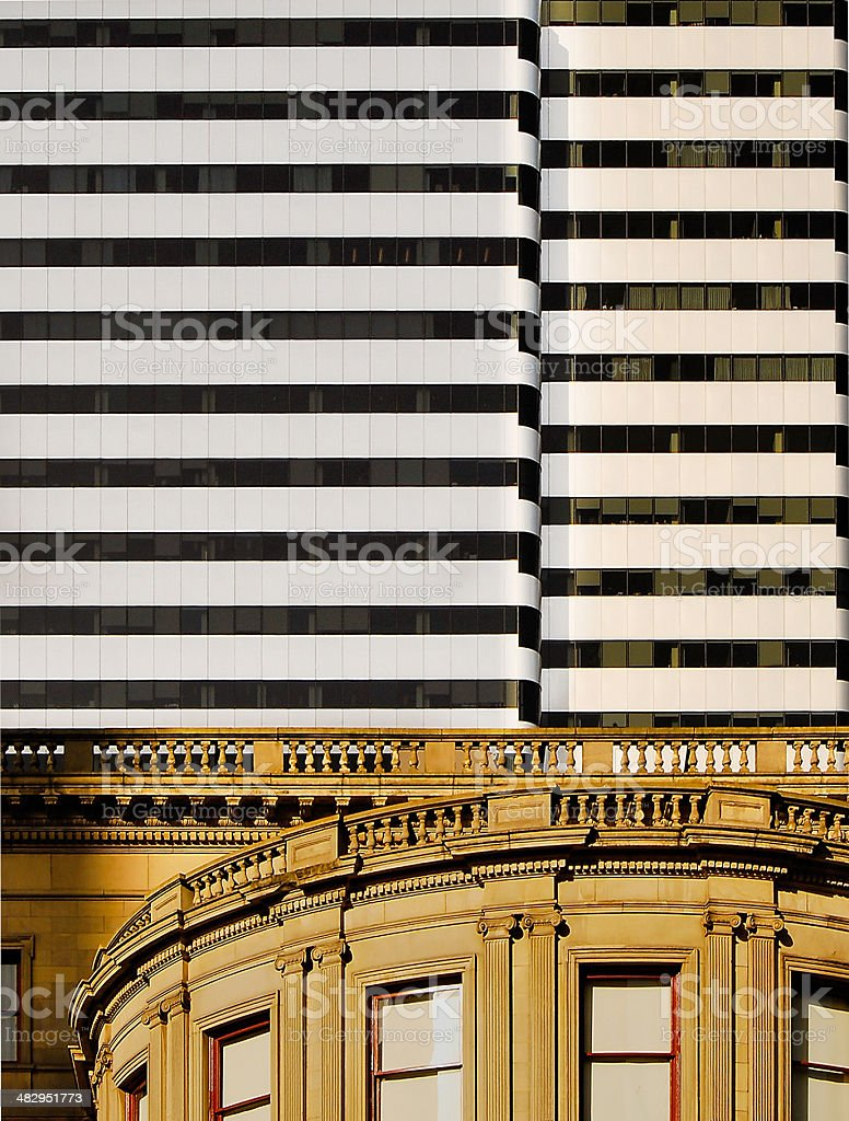 Office Building in Downtown Portland stock photo
