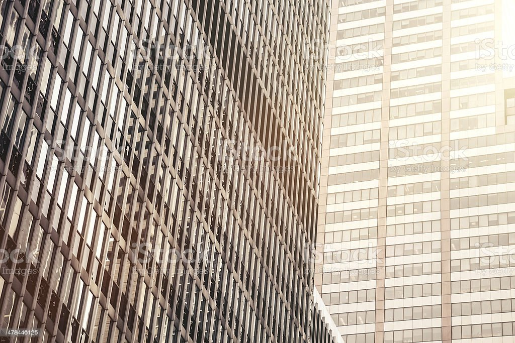 Office building in financial District royalty-free stock photo