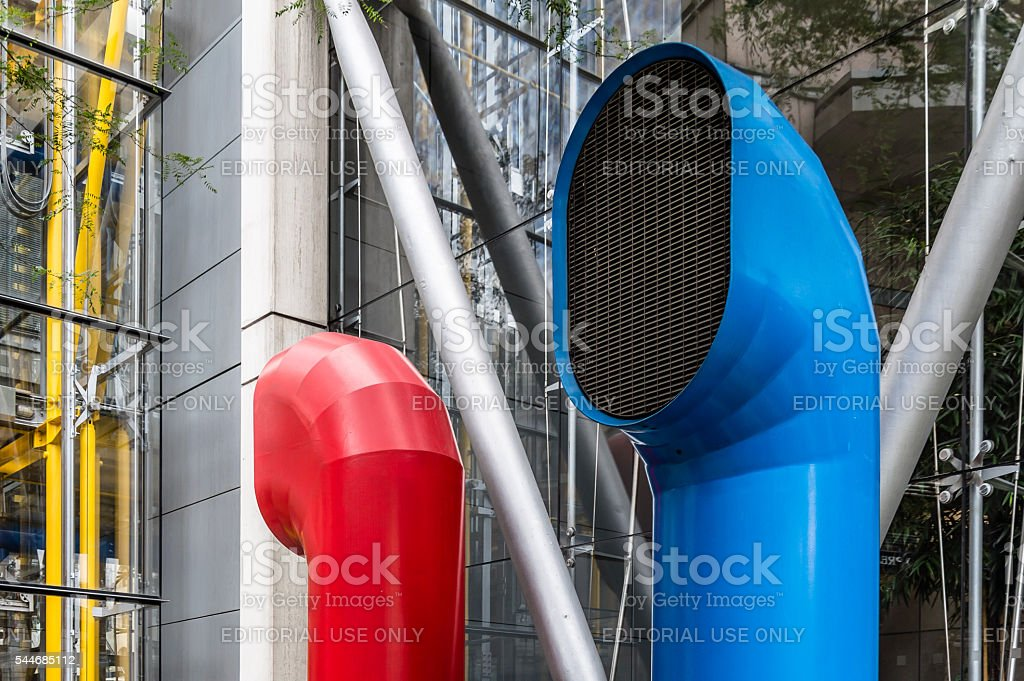 Office building in London stock photo