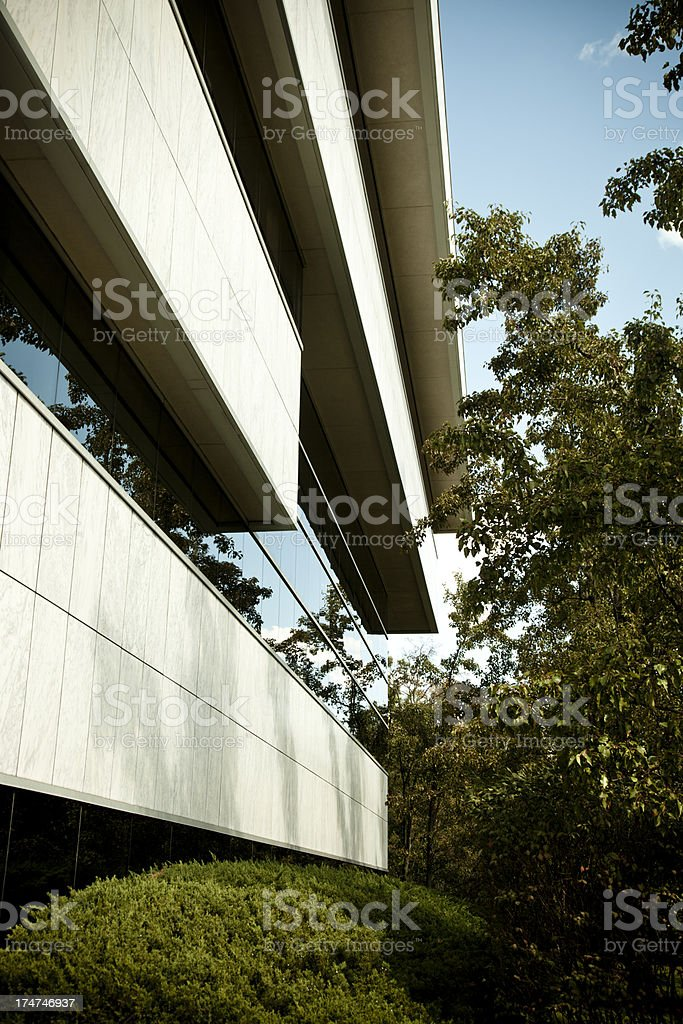 Office building in New Jersey. USA stock photo