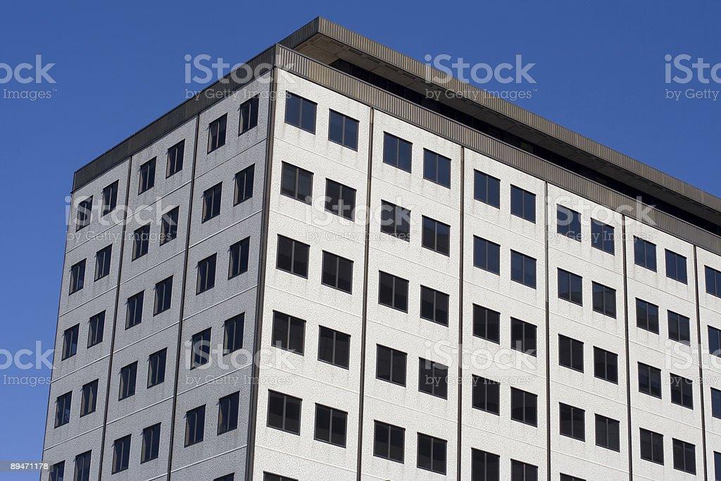 Edificio de oficinas en Seattle foto de stock libre de derechos