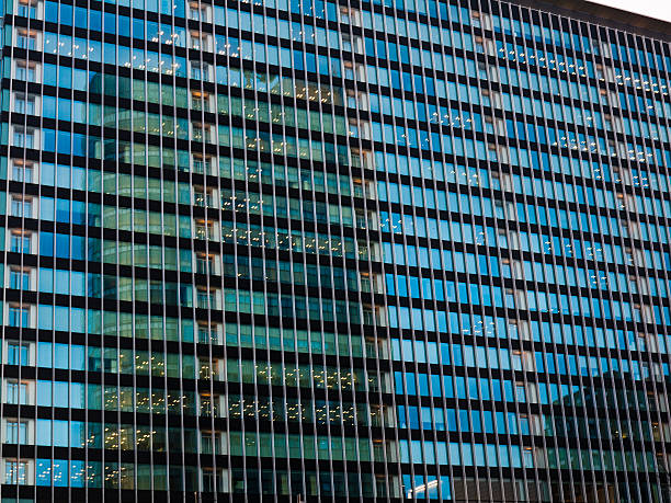 Office Building in Tokyo stock photo