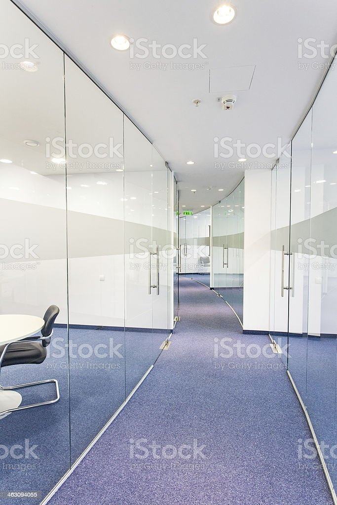 Office building interior royalty-free stock photo