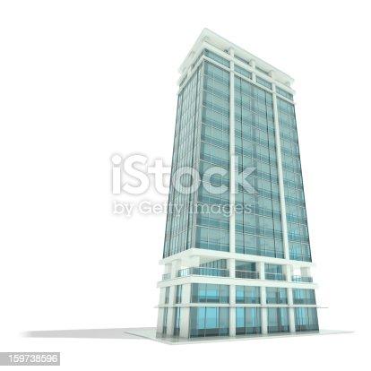 istock Office building 159738596