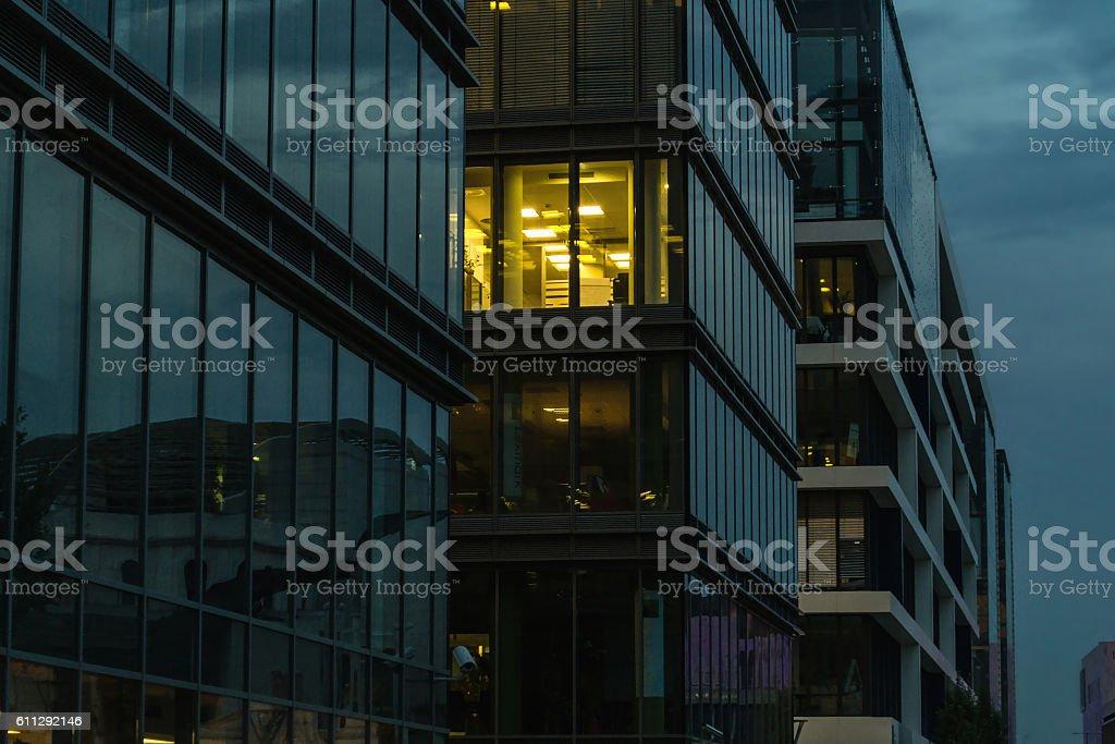 Edificio de oficinas  foto de stock libre de derechos