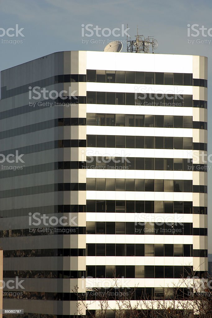 Office Building royalty free stockfoto