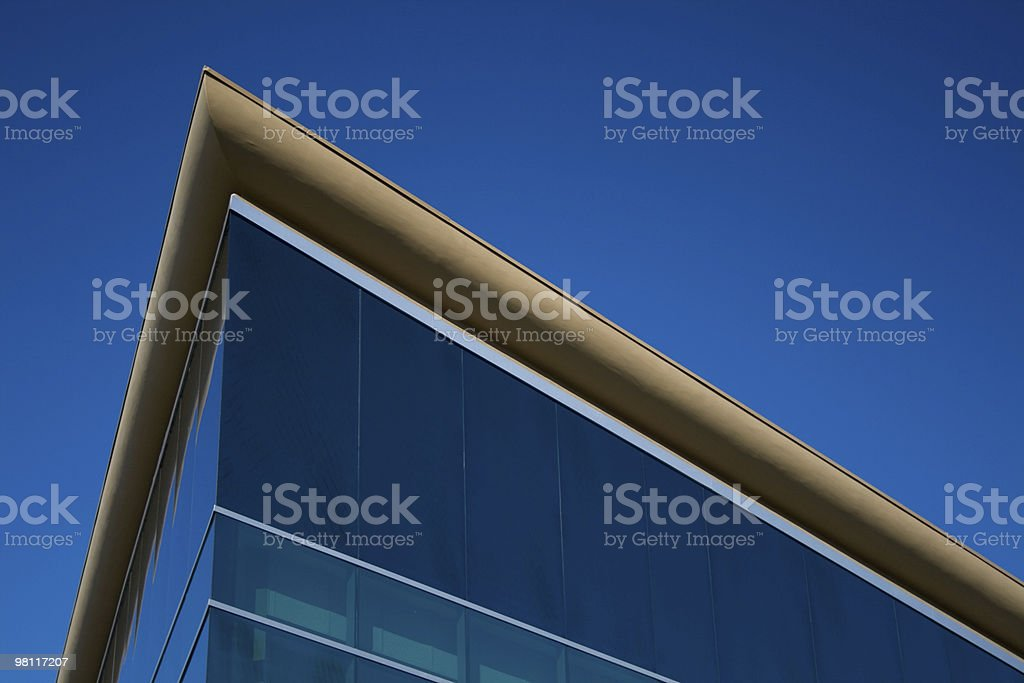 Office Building Strong Angled royalty-free stock photo