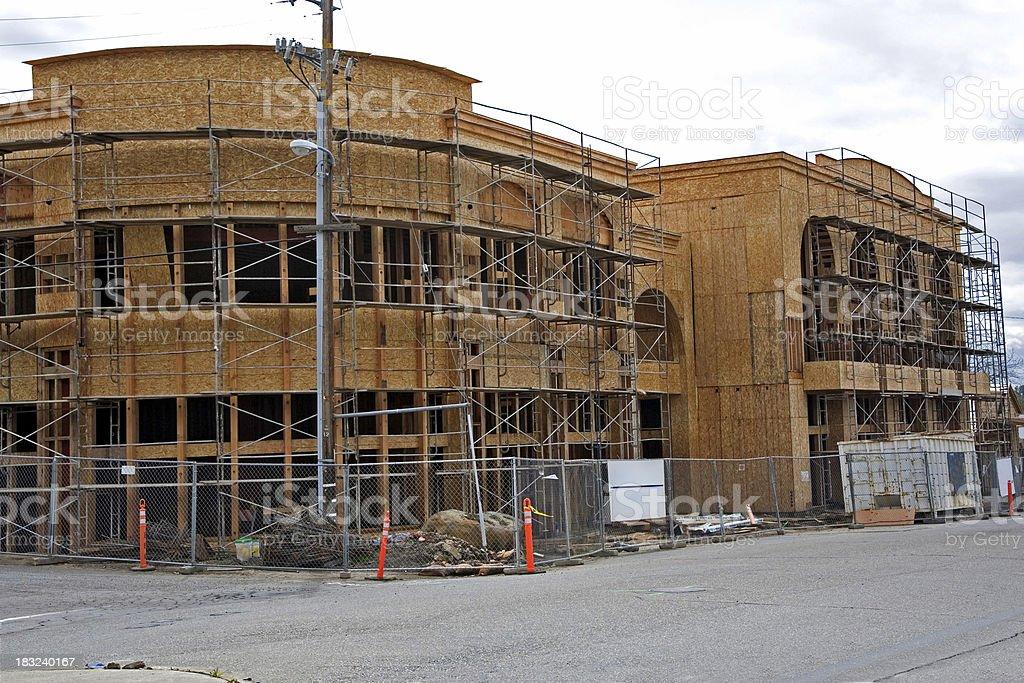 Bürogebäude unter Bau – Foto