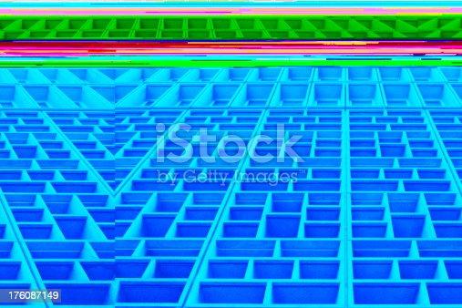 istock Office Building Window Facade Abstract 176087149