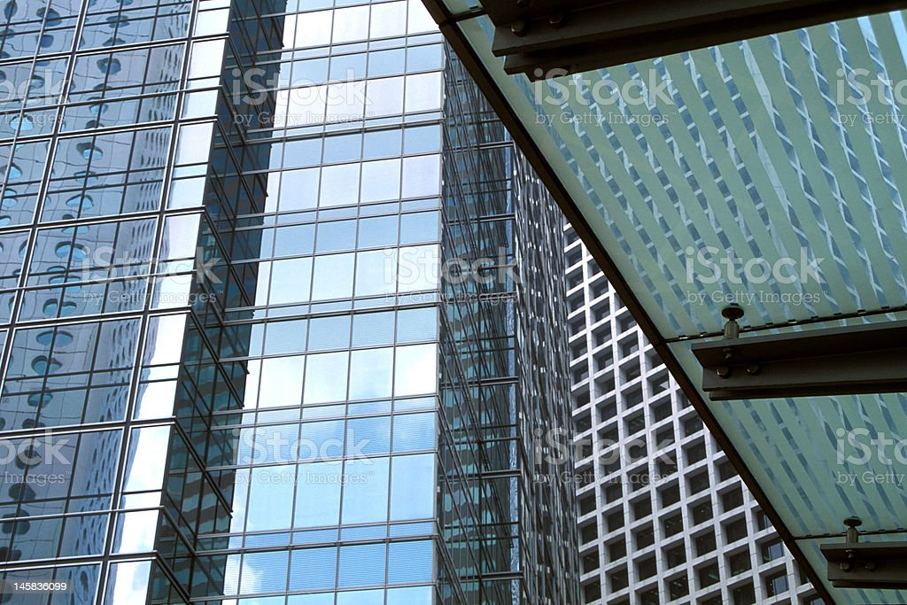 Office Buildings and Shelter royalty-free stock photo