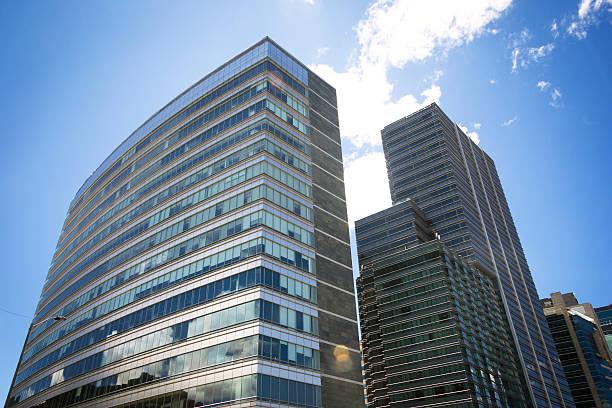 Office Buildings at Bogotá stock photo