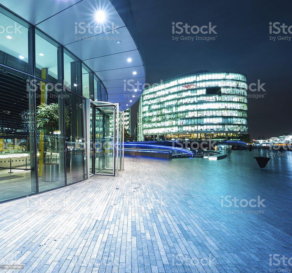 Office buildings CBD of London royalty-free stock photo