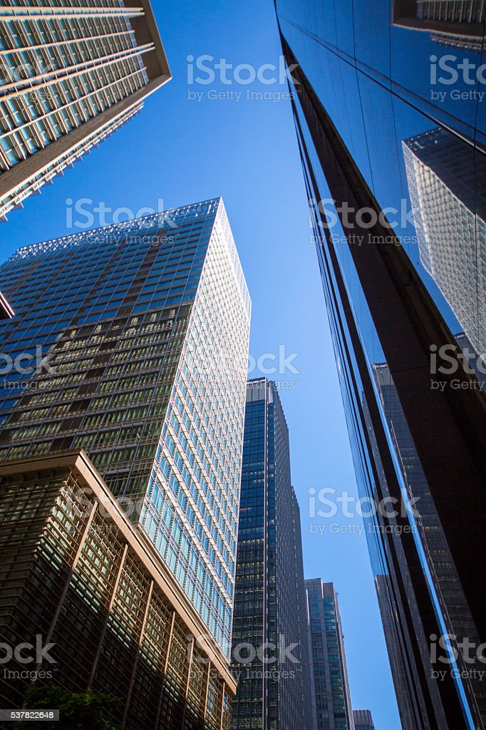 office buildings stock photo