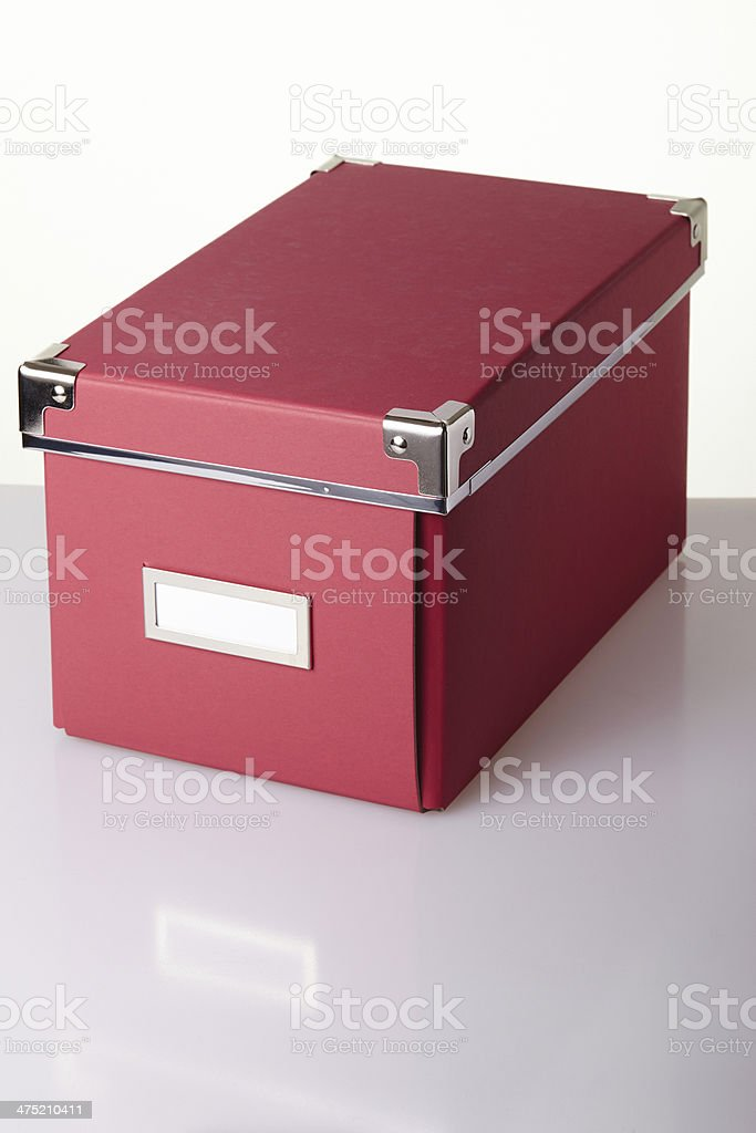 Office cardboard boxes royalty-free stock photo