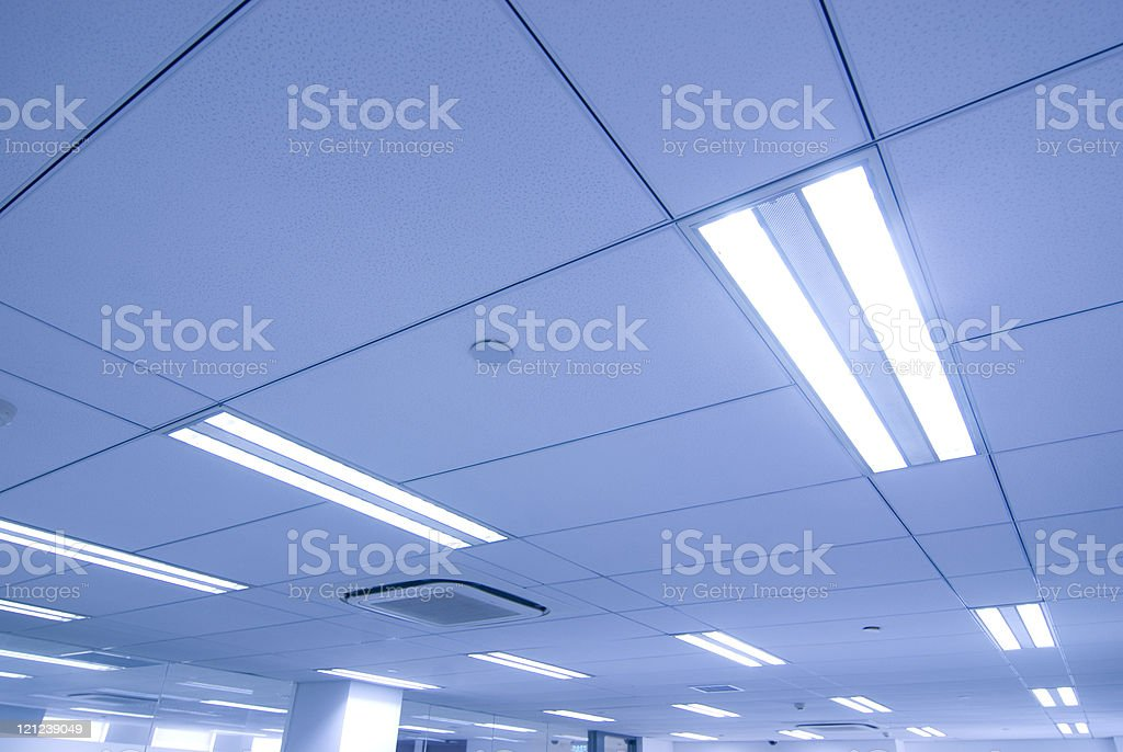 office Ceiling royalty-free stock photo