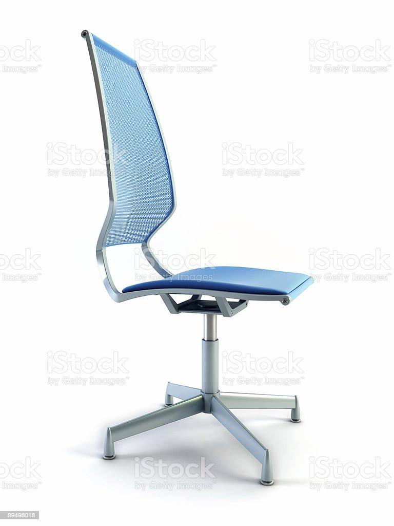 office chair 3d rendering royaltyfri bildbanksbilder