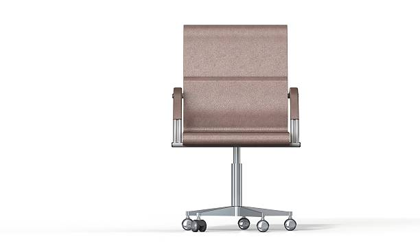 Office Chair isolated on white stock photo