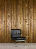 istock Office Chair With Wood Background 171281908