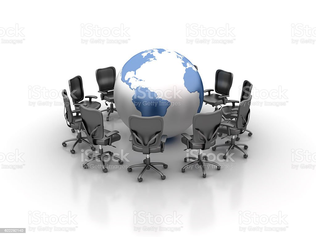 globe office chairs. Office Chairs Meeting With World Globe Map Royalty-free Stock Photo Globe Office Chairs I