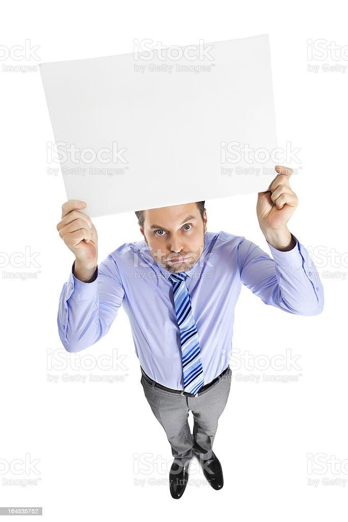 Office clerk royalty-free stock photo