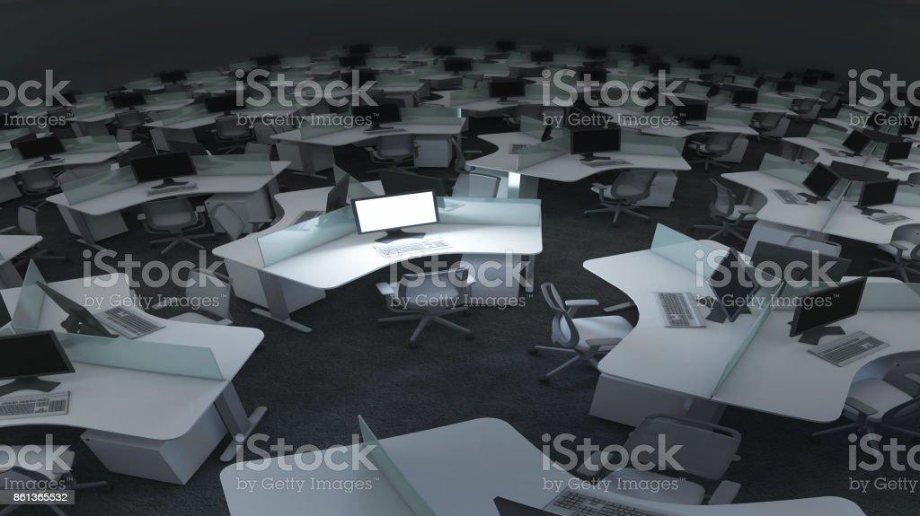 Concepto de oficina  - foto de stock