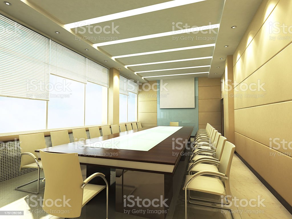 Office Conference room stock photo