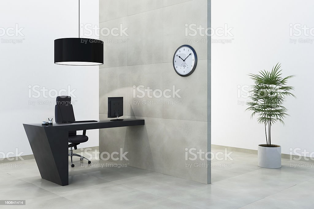 Office Contemporary royalty-free stock photo