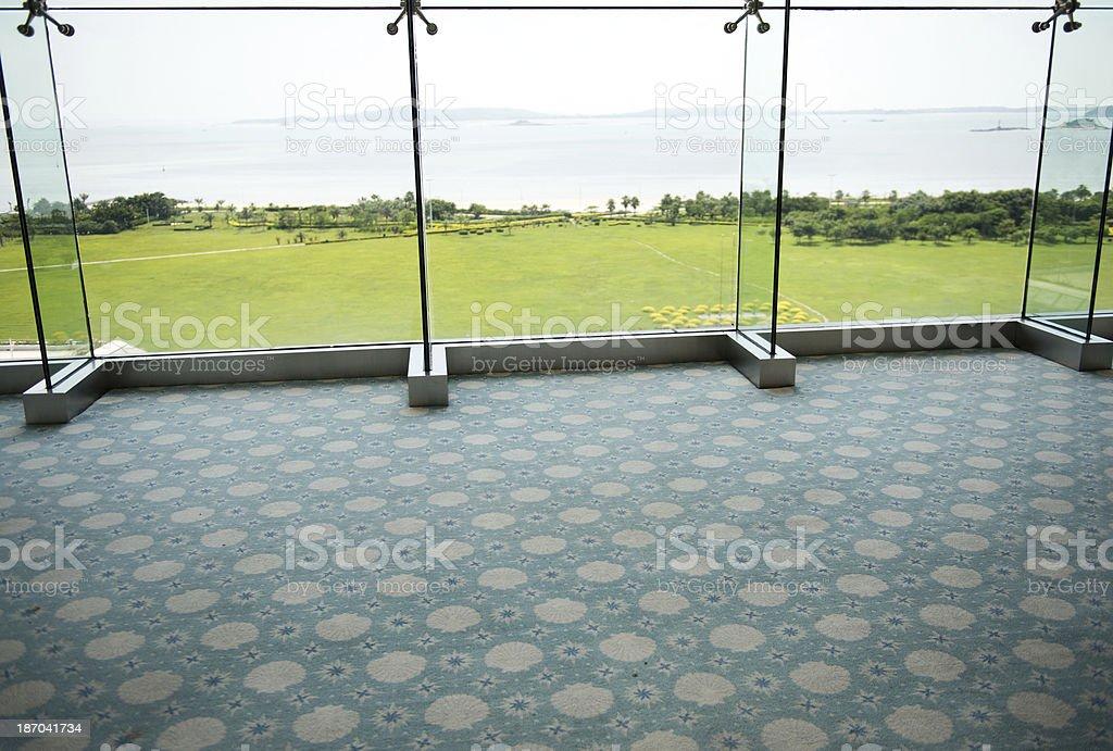office corridor royalty-free stock photo