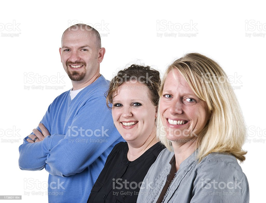 Office coworkers stock photo