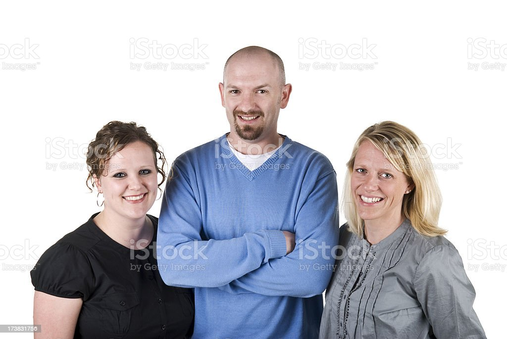 Office coworkers royalty-free stock photo